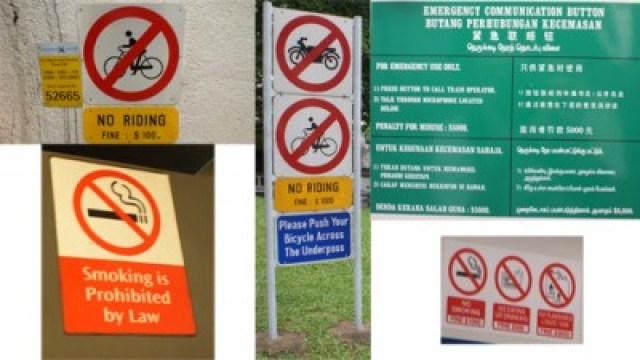 Singapore is a FINE city, yak kota yang bagus sekaligus kota penuh denda, hati - hati jangan sampai kena denda :)