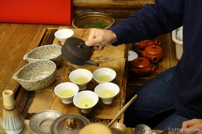 Tsuen Chaya, salah satu kedai teh tertua di jepang