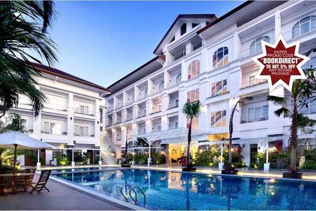 Buat yang mau liburan di Yogyakarta, pesan sekarang dan dapatkan Promo Diskon 5% di Gallery Prawirotaman Hotel untuk tipe kamar apapun!