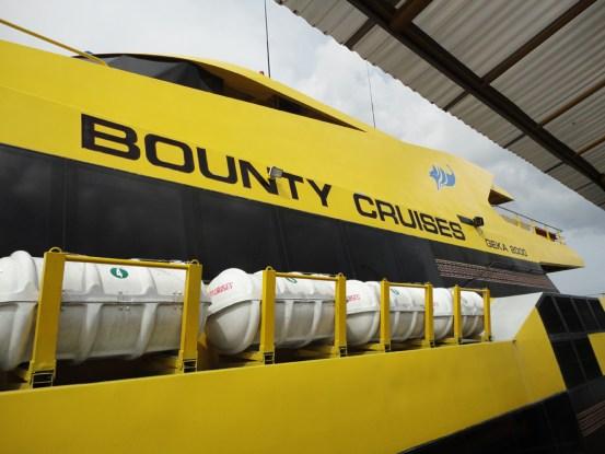 Bounty, Fast Cruiser Ship ke Nusa Lembongan