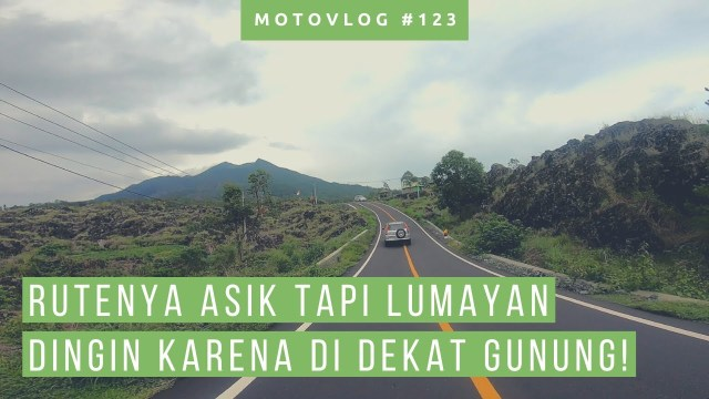 Riding Sore Ke Kolam Air Panas Alami Batur Kintamani [ Motovlog Bali ]