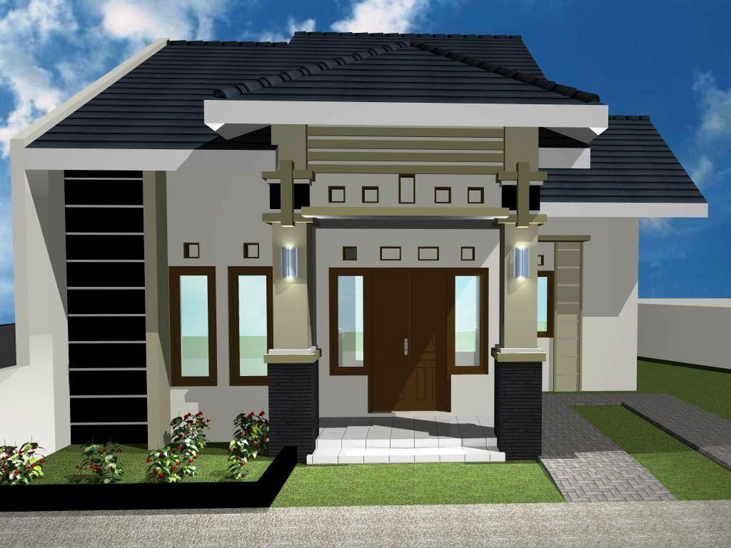 Type 36 Desain Rumah Minimalis 6x12 Tampak Depan Cek Bahan Bangunan