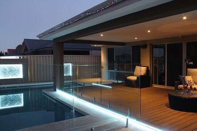 aesthetic deck lighting ideas