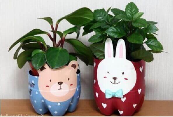 4 Ideas How To Make Flower Pot Using Bottle 2021