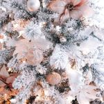 Rose Gold Silver Rose Gold Christmas Phone Wallpaper