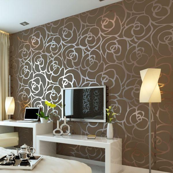 Modern Living Room Modern Wallpaper For Walls