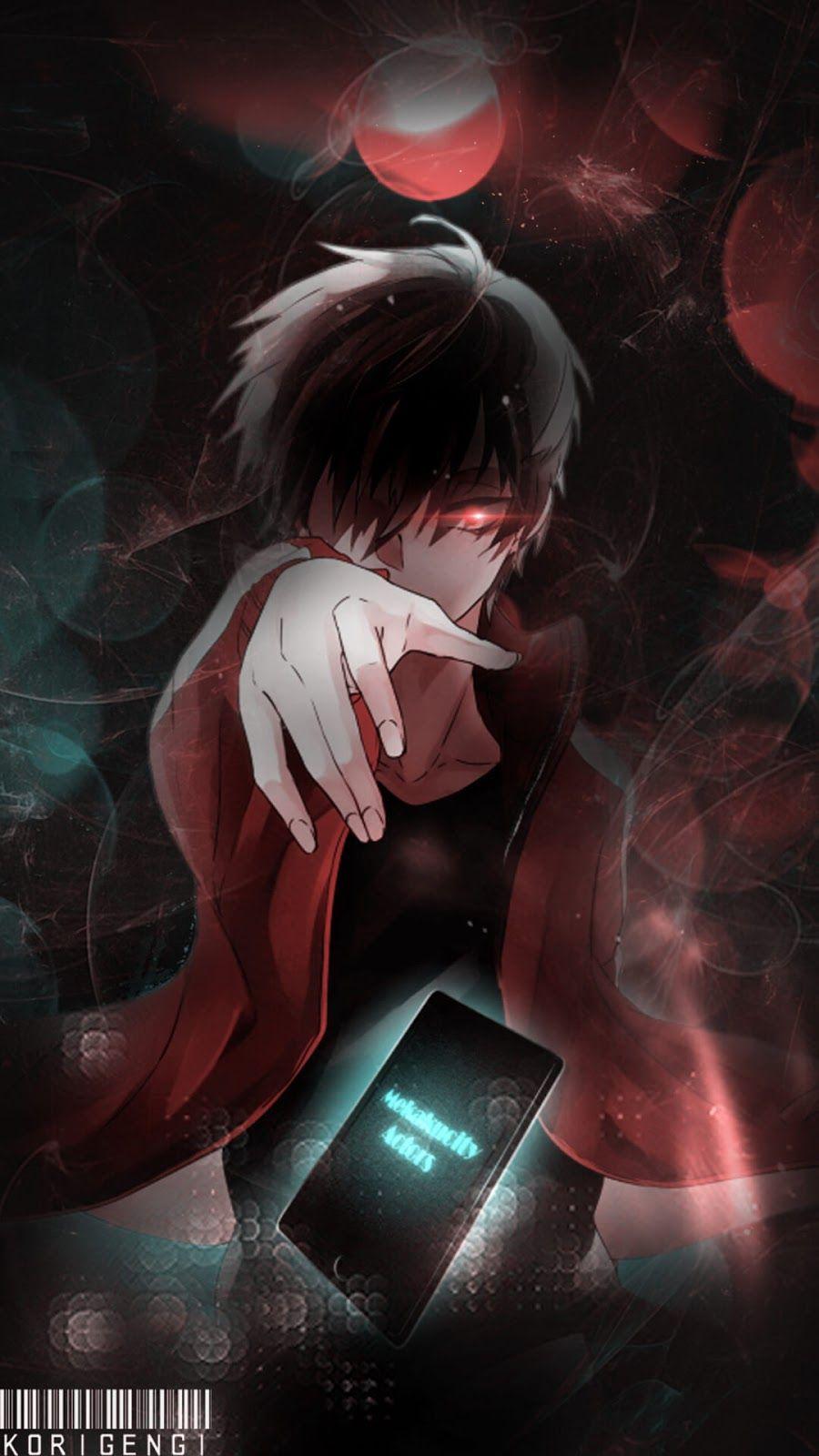 Cool Black Anime Boy Wallpaper