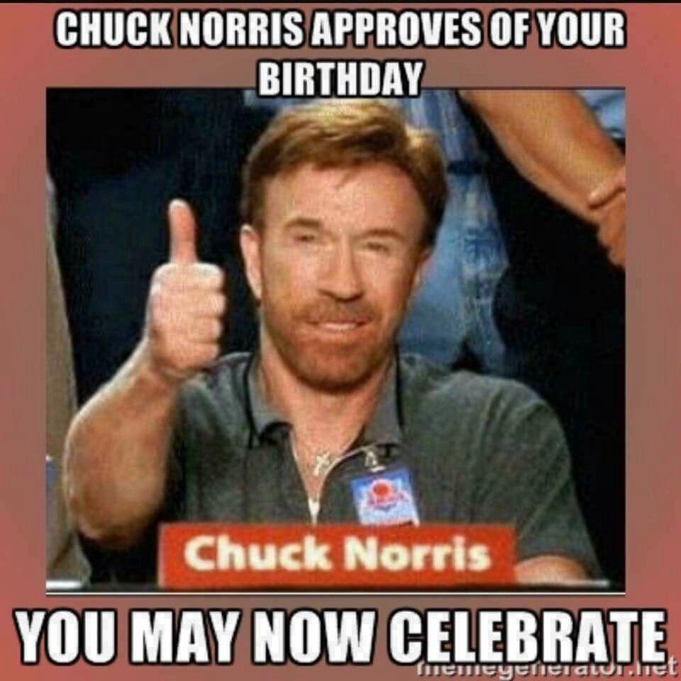 Chuck Norris Jokes Birthday