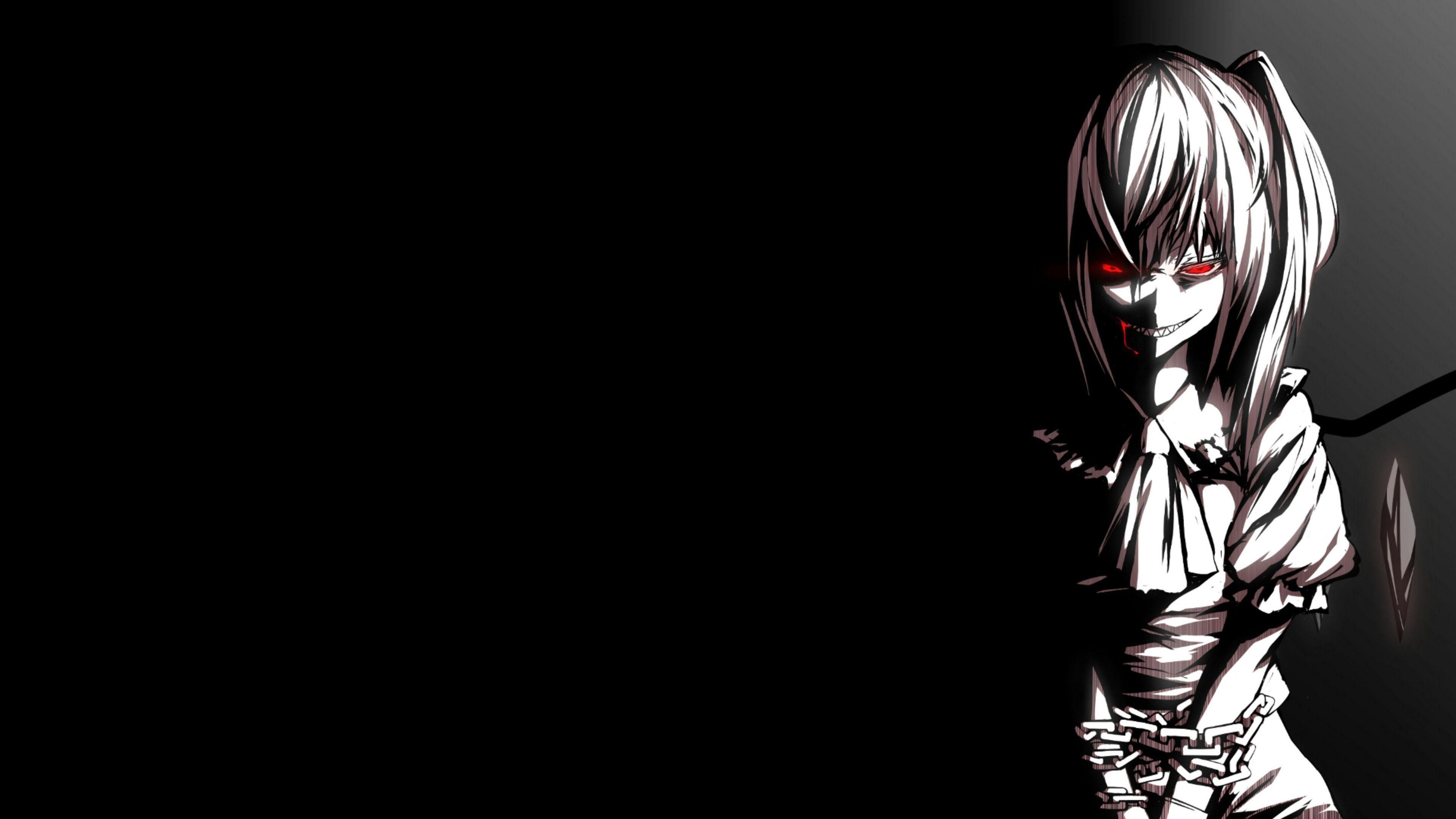 4k Wallpaper Dark Anime