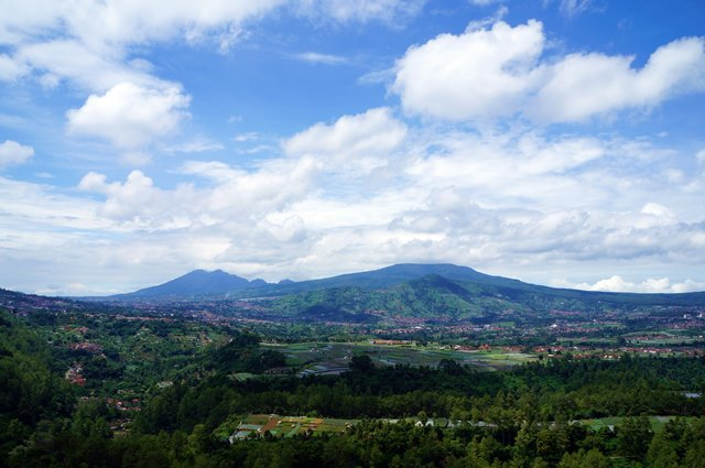 Magnificent view around Tebing Keraton you can enjoy anytime.