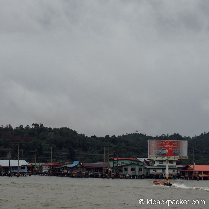 Kampong Ayer in Brunei Darussalam!