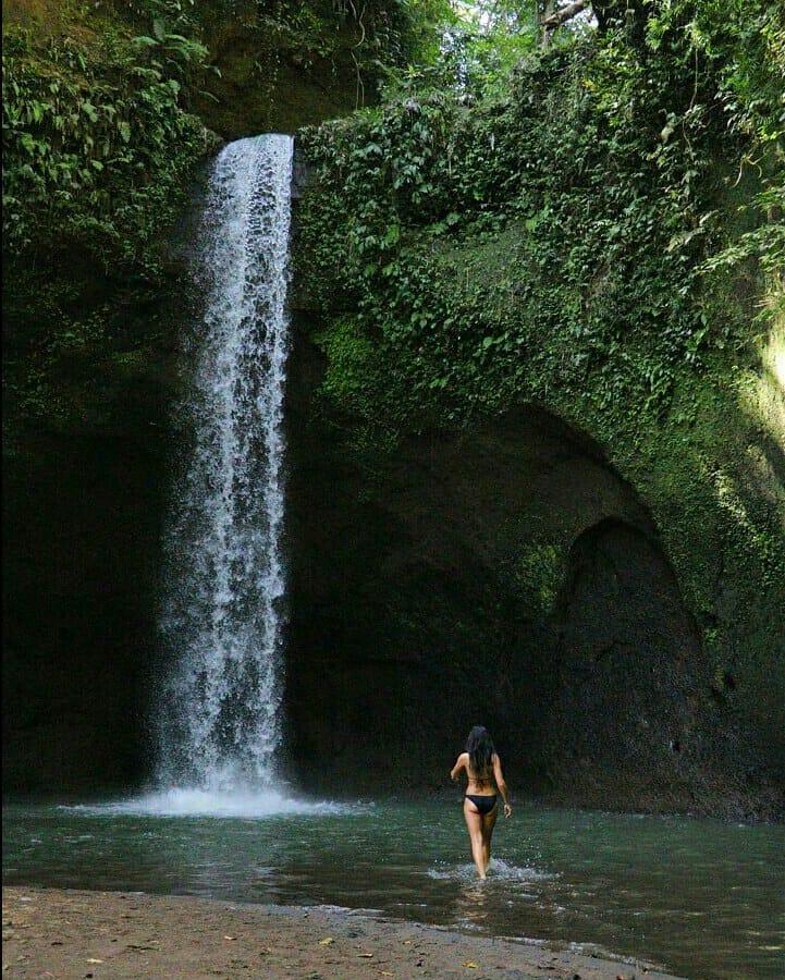 Entrance Ticket to Tibumana Waterfall Bali! via @attamesariubud