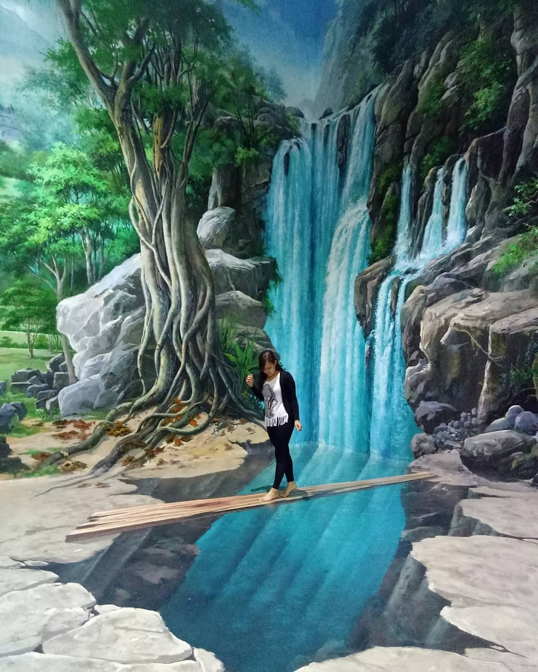 Trick Art 3D Gallery is located not far from Seminyak Beach Bali
