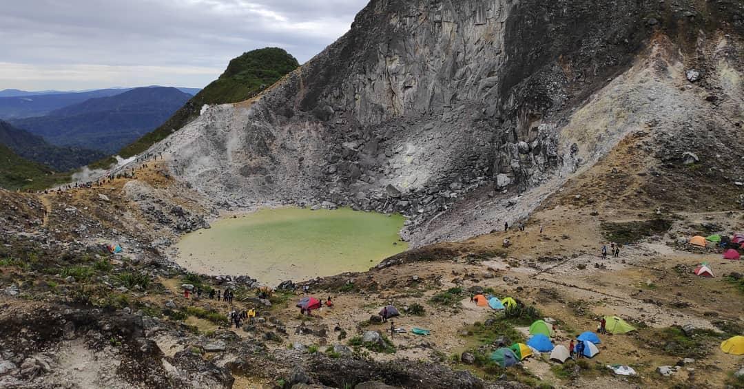 Mount Sibayak, The volcano that near Medan