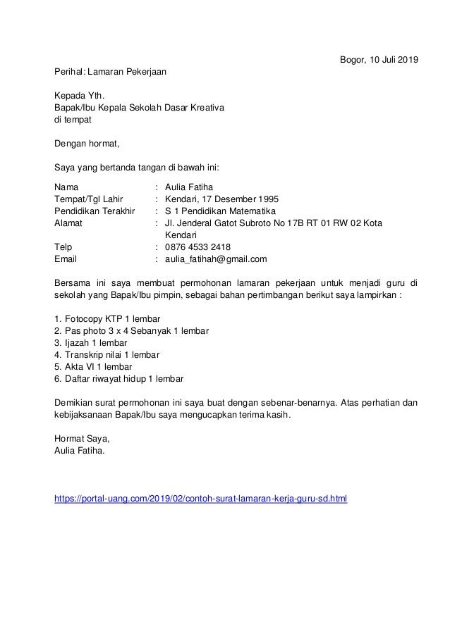 Contoh Surat Lamaran Perawat Puskesmas Download Kumpulan Gambar