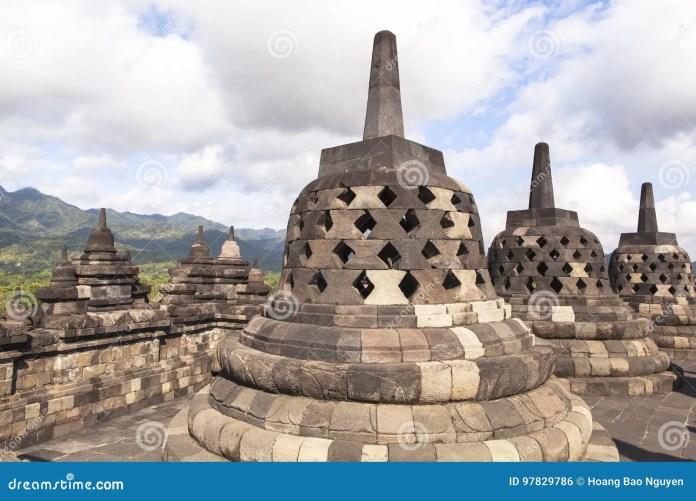 Buddhist Temple Indonesia Borobudur