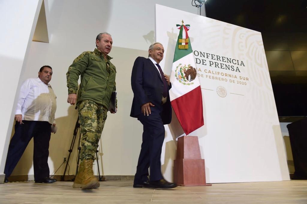 José Rafael Ojeda Durán, Secretario de Marina