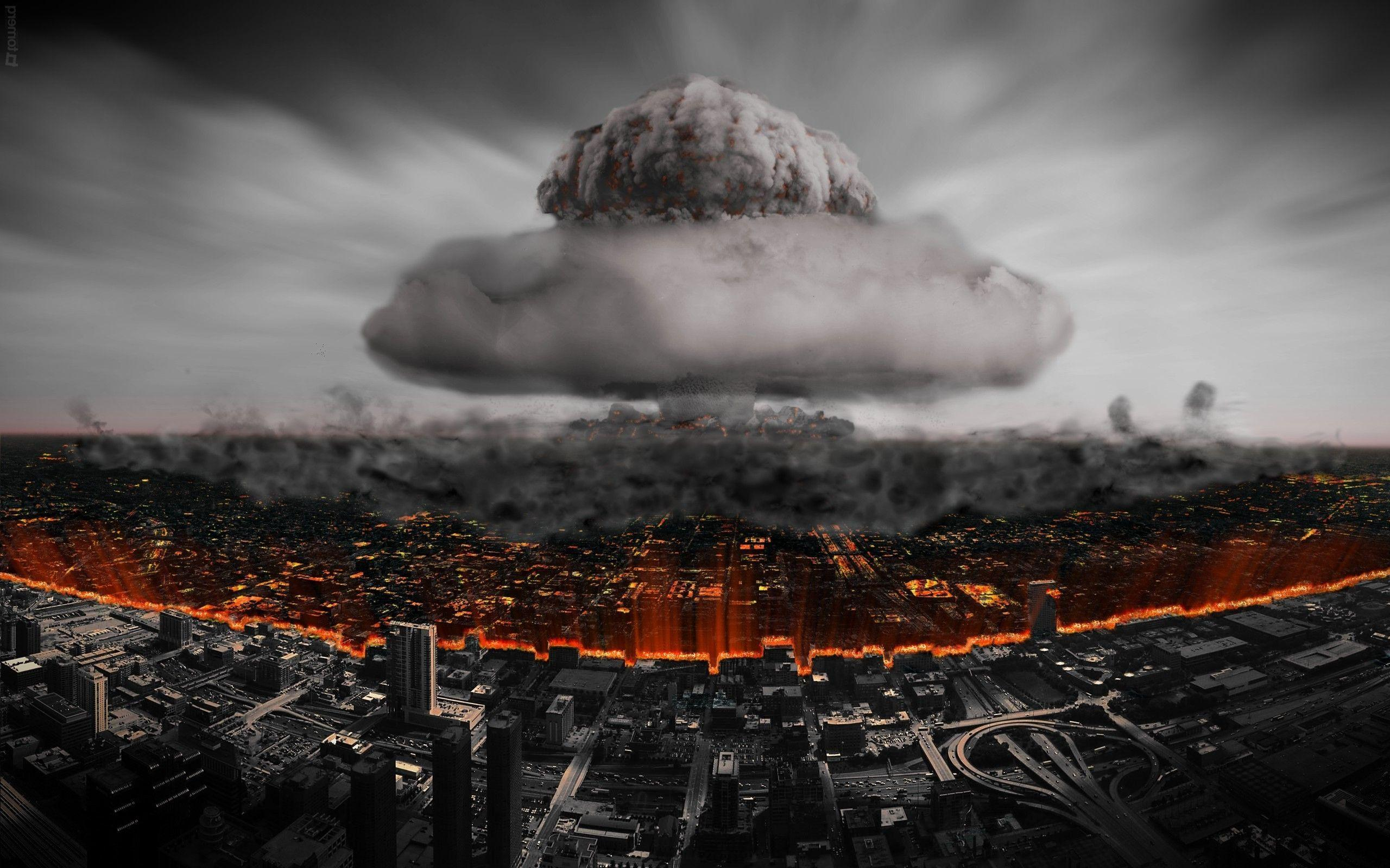 Nuclear Explosion 4k Wallpaper