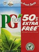 PG Tips from the UK - Available on Amazon.com