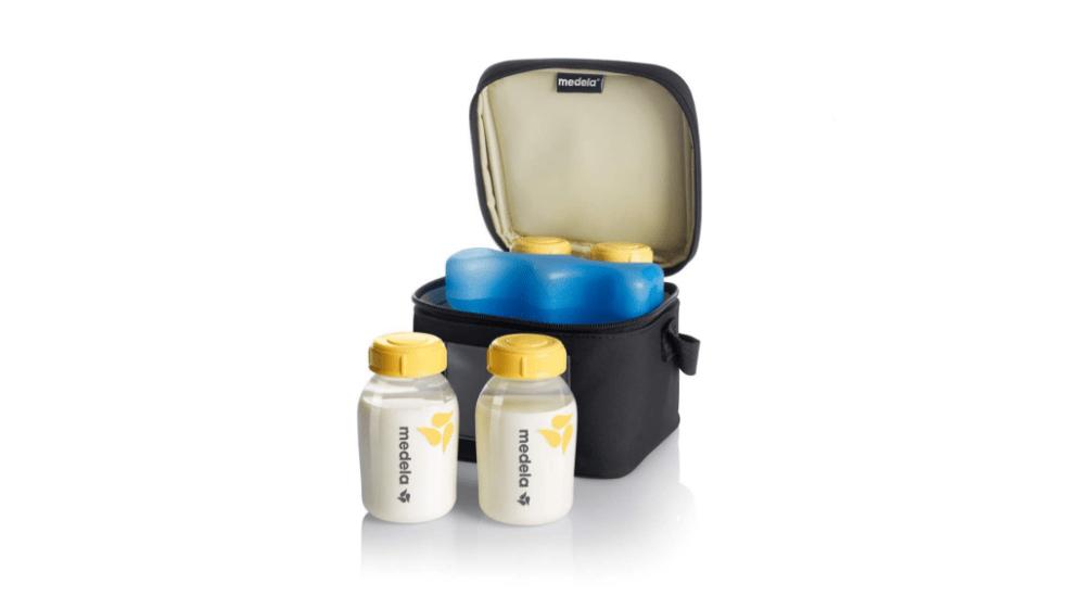 breast milk cooler bag madela