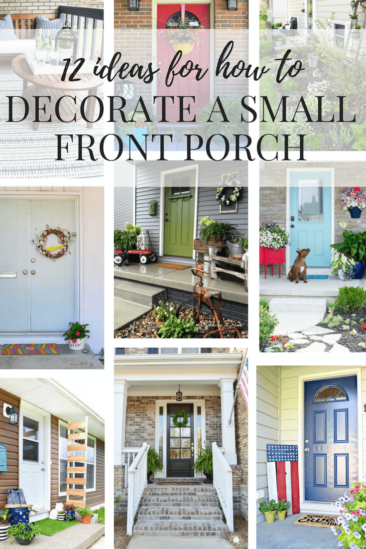 12 gorgeous small front porch ideas