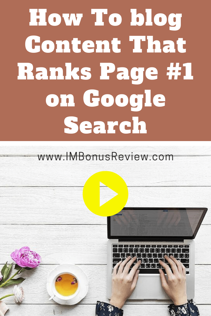 Ranks Page #1 on Google Search
