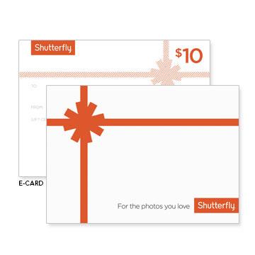 Gift Certificates Shutterfly