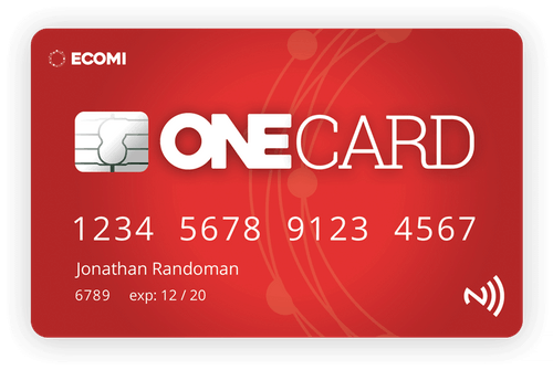 ecomi one card