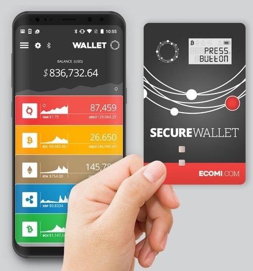 ecomi secure wallet