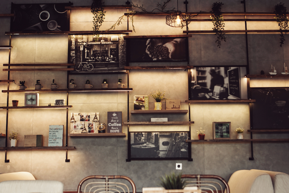 Free Photo Of Decor Coffee Shop StockSnapio