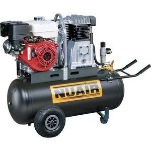Compresseur D Air Thermique Moteur Honda De 5 5 Cv 100 Litres Nuair