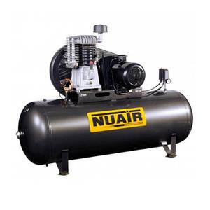 Compresseur D Air Bi Etage Reservoir De 500 Litres Moteur Triphase De 7 5 Cv Nuair