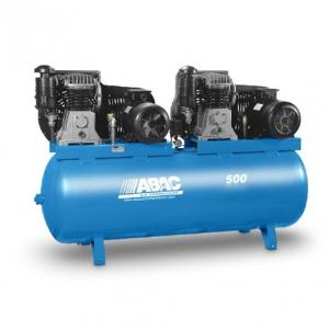 Compresseur D Air A Piston Reservoir De 500 Tandem Abac