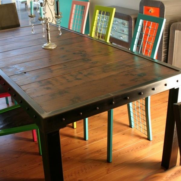 table repas industrielle