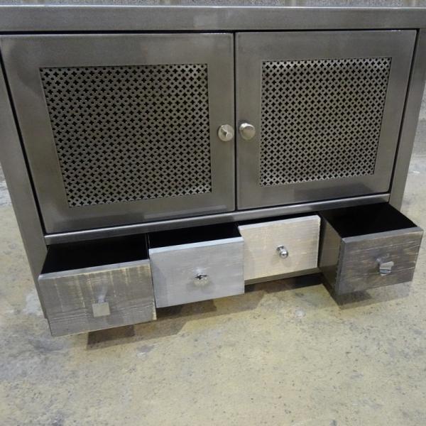 meuble metal design