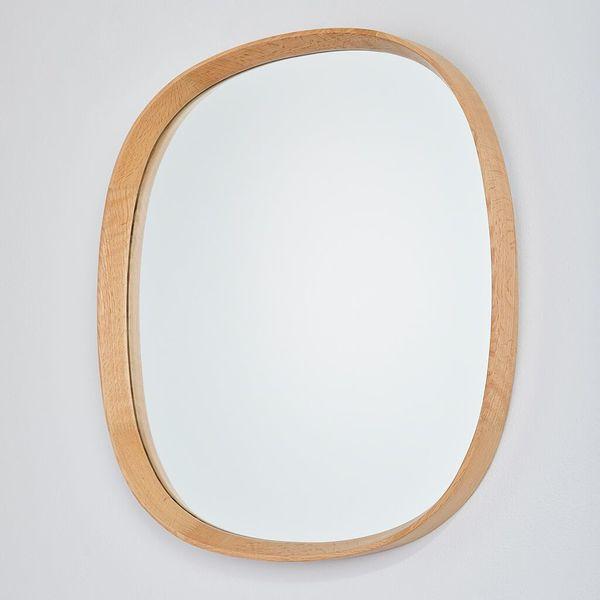 miroir en chene massif