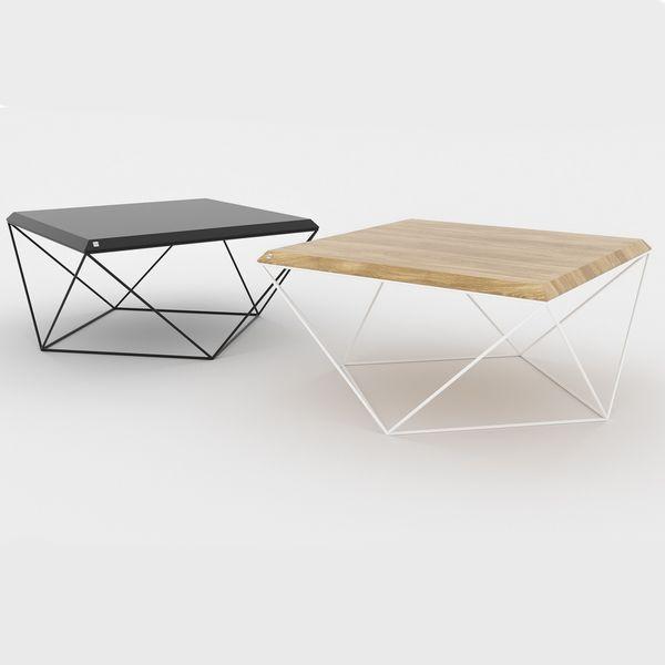 table basse de salon bois scandinave