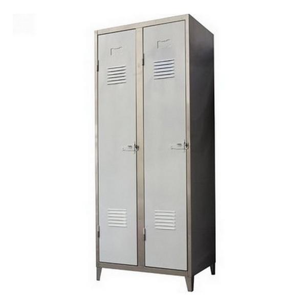 vestiaire tolix 2 portes