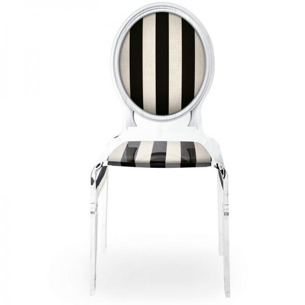 chaise design noire