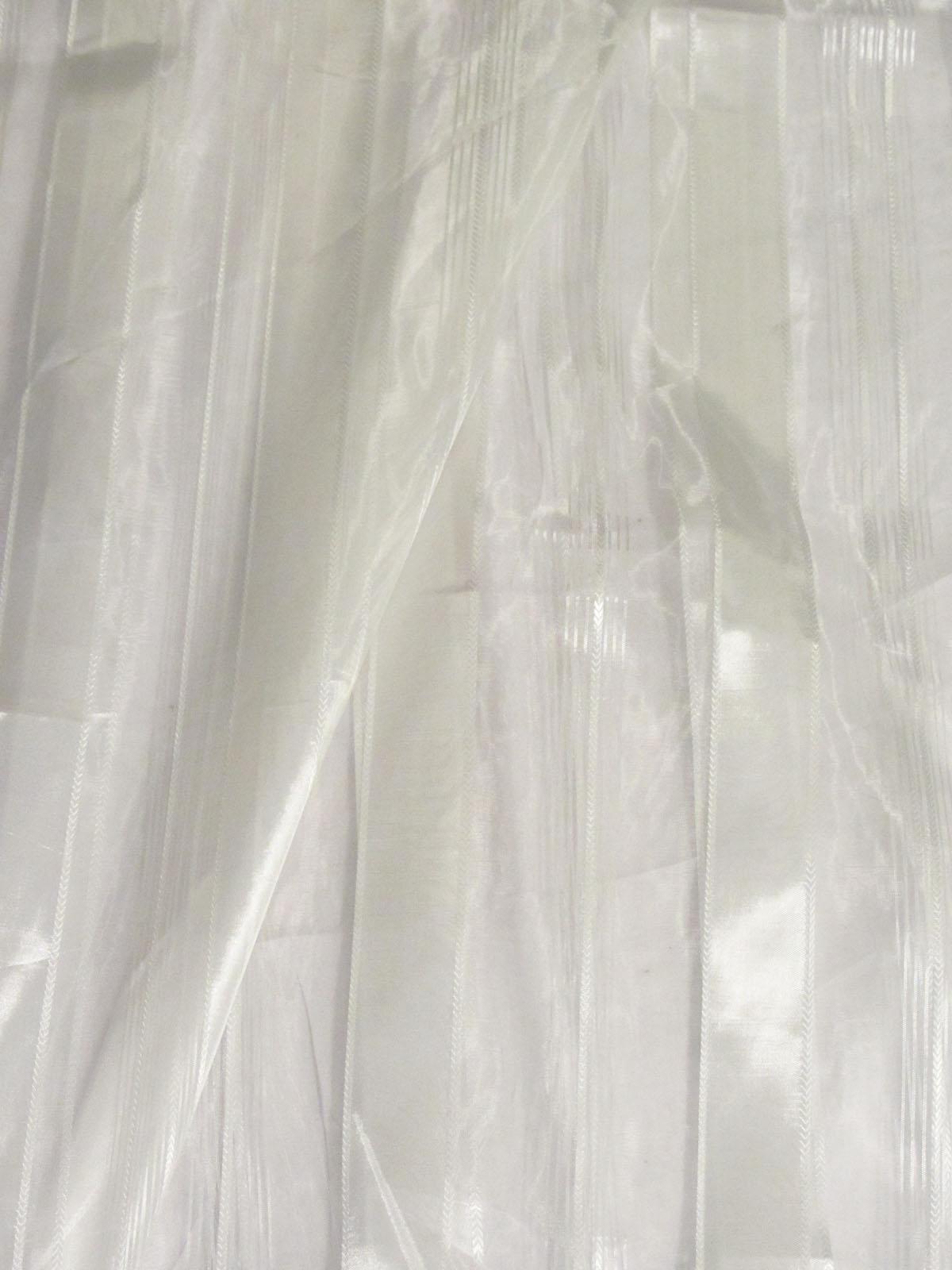 tissu voilage 280 cm de large coloris du tissu en stock ivoire