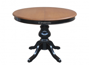 table ronde a manger extensible