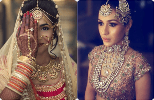 match your jewellery and lehenga