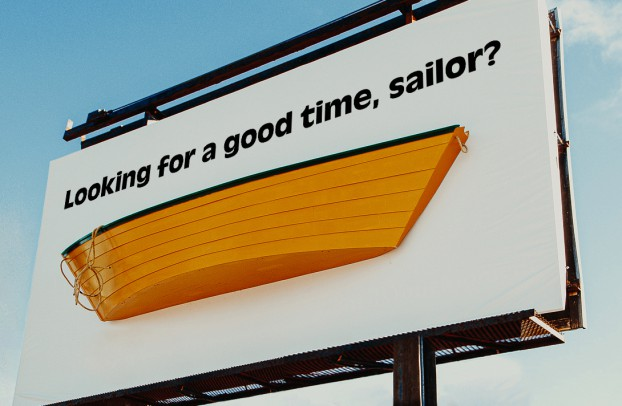 """To launch Crooked Dory cannabis, Target mounted an actual dory on a blank billboard. One week later, it posted the """"Sailor"""" headline. Social media lit up with banter, memes, and TikTok videos (with 360,000 followers). Result? Line-ups, and all SKUs selling out in five days"""