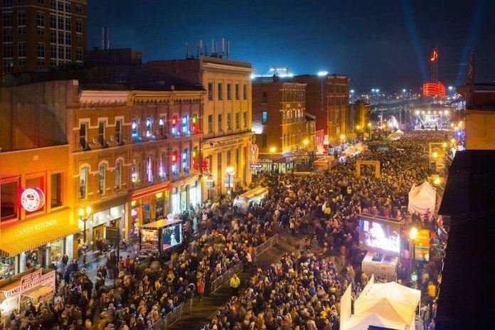 Image result for nashville new years eve