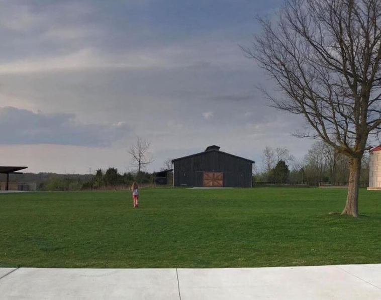 With many parts of the Parklands built on former farmland, the park designers integrated many of the structures, including barns and silos, into the landscape design to acknowledge its history.