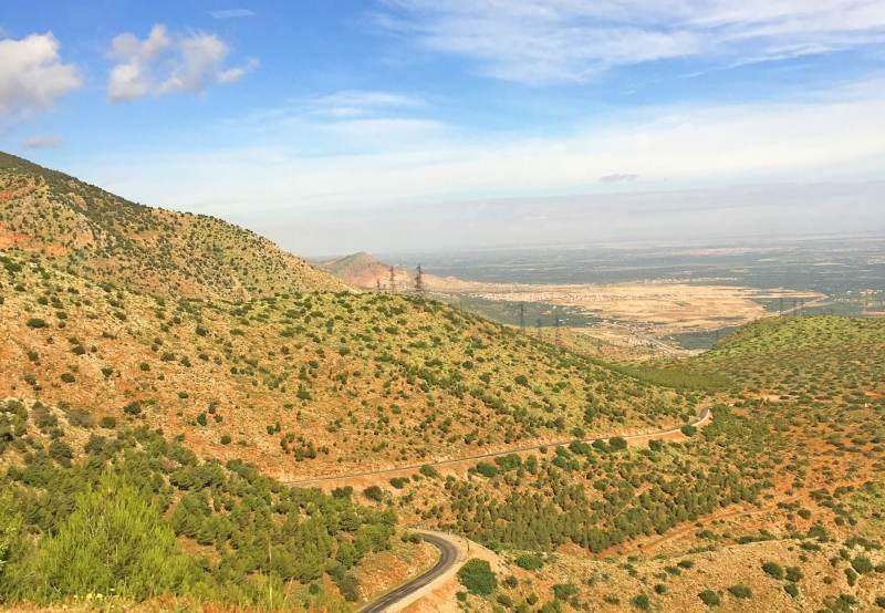 Le terrain marocain à couper le souffle