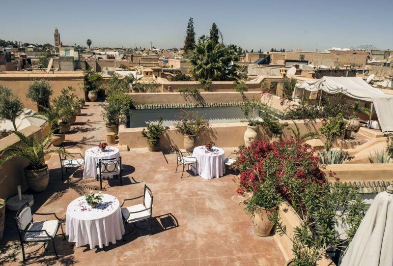 Petit déjeuner sur le toit de Riyad El Cadi | Image: Jelka von Langen