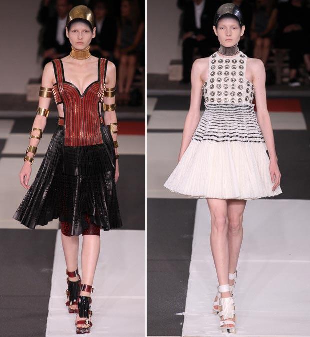 Alexander McQueen Spring Summer 2014 collection influences