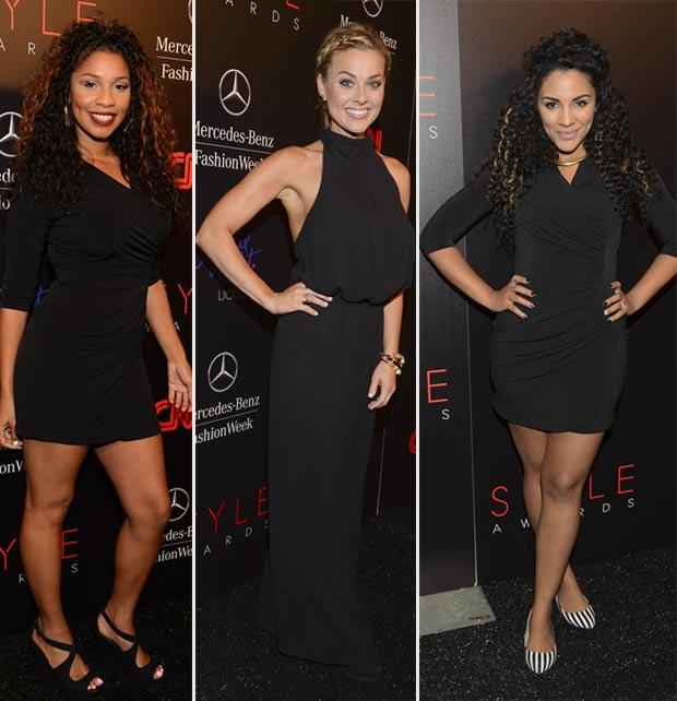 black evening dresses Laurhan Beato Melana Scantlin Krystal Starr Knighton