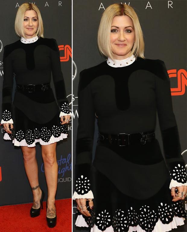 black formal dress Trish Summerville 2013 Style Awards